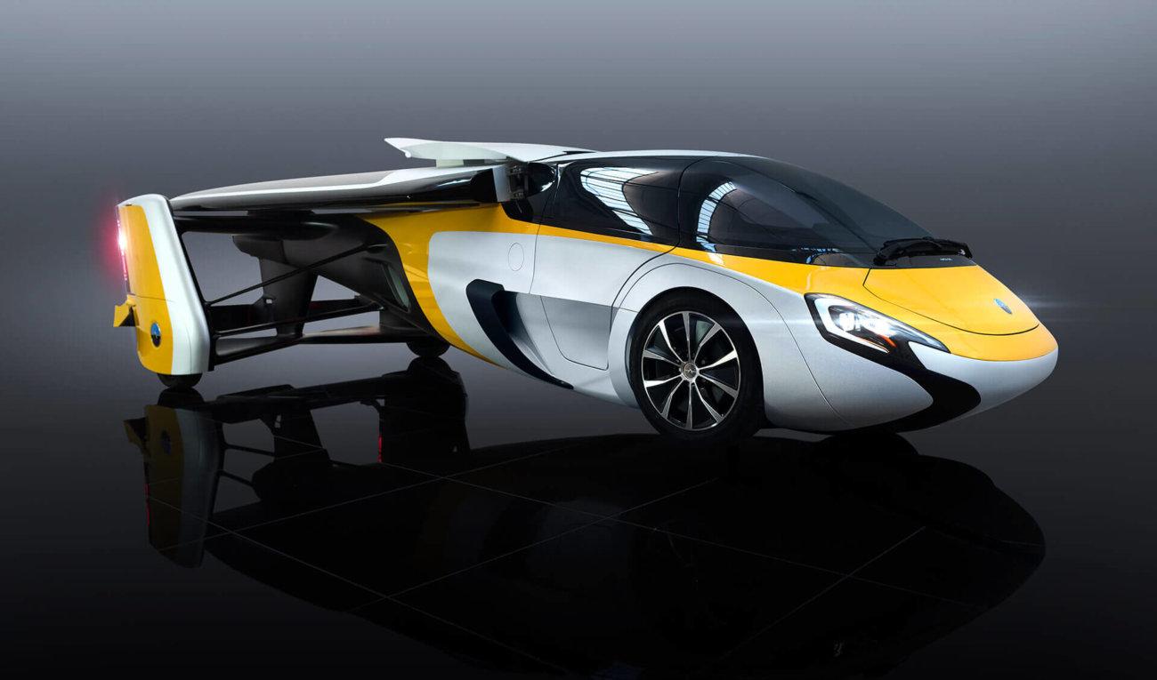 Словаки показали свой летающий автомобиль в Монако и озвучили цену