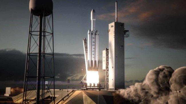 Маск анонсировал скорый запуск сверхтяжелой ракеты Falcon