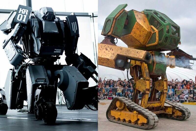 Битва гигантских роботов состоится в августе этого года