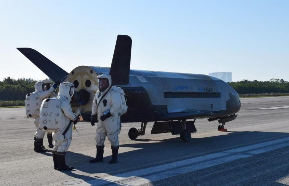 Американский космолет завершил двухлетнюю секретную миссию