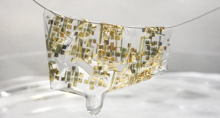 Биоразлагаемые микросхемы разработали в Стэнфорде