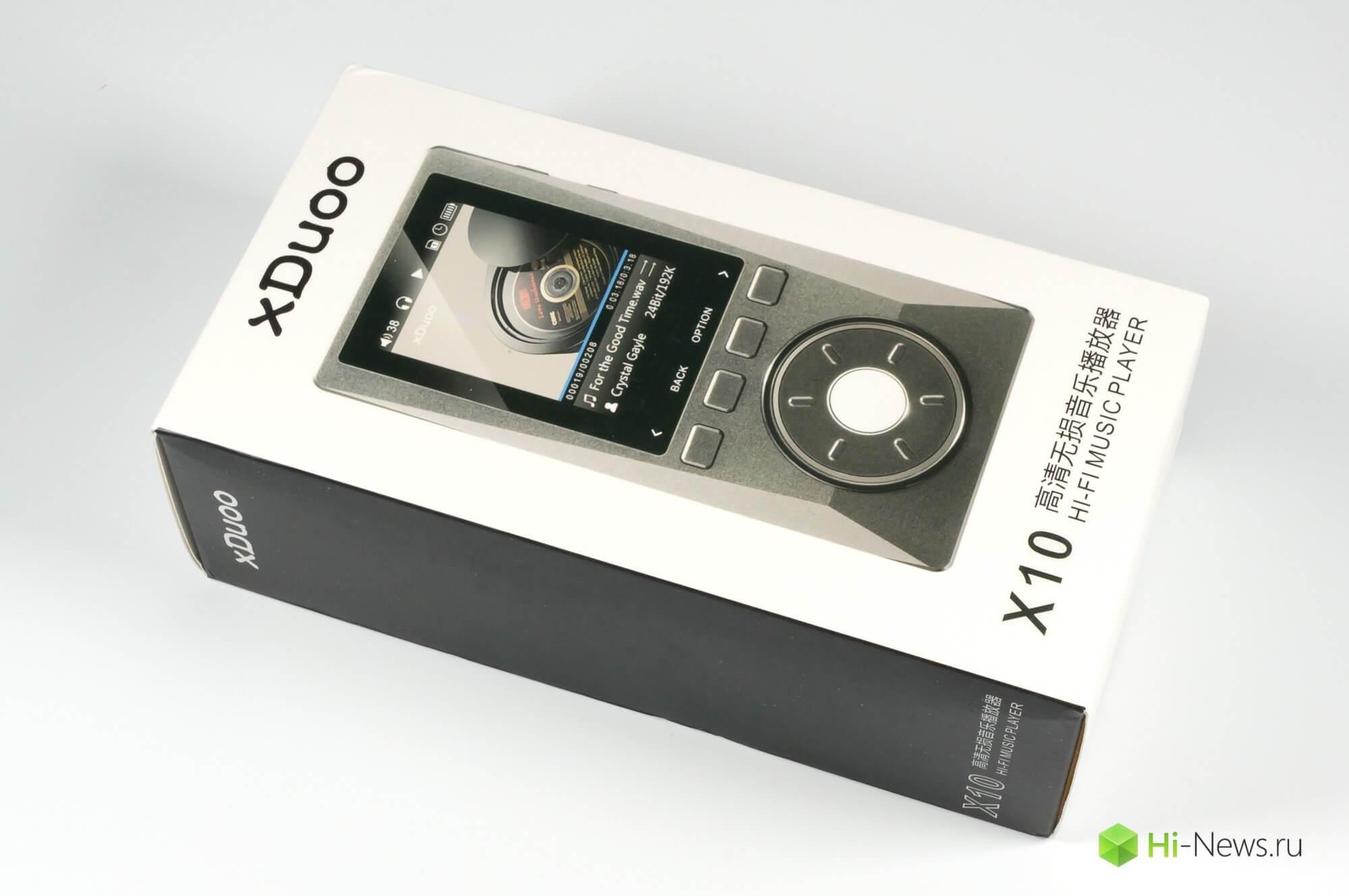 xDuoo X10: обзор плеера
