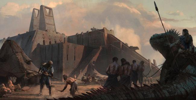 Художники попытались представить, как могли бы выглядеть вымершие цивилизации (37 фото)