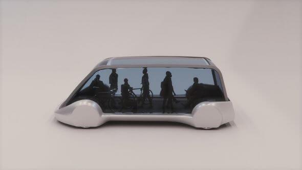 Илон Маск представил концепт-кар высокоскоростного подземного автобуса