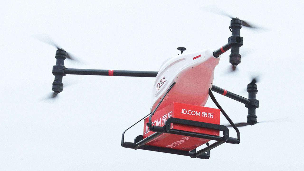 Китайский ретейлерJD.com разрабатывает дроны грузоподъемностью втонну