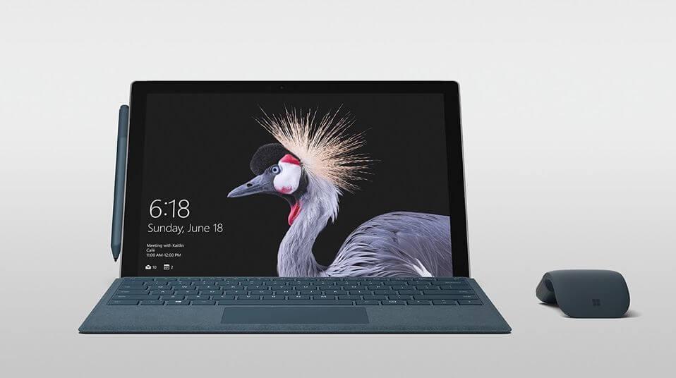 Microsoft представила обновленную версию гибридного планшета Surface Pro