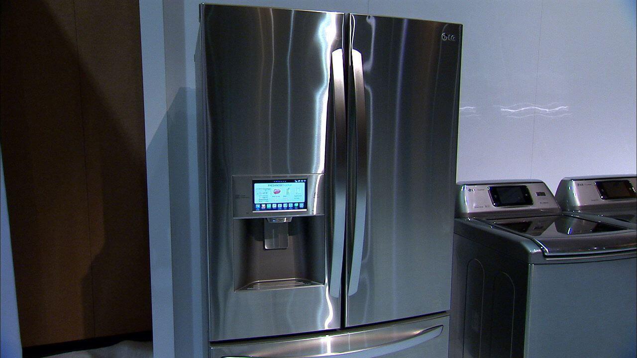 подключенный к Интернету холодильник