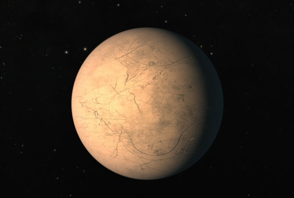 Ученые отыскали  сходство между спутниками Юпитера ипланетами системы TRAPPIST-1