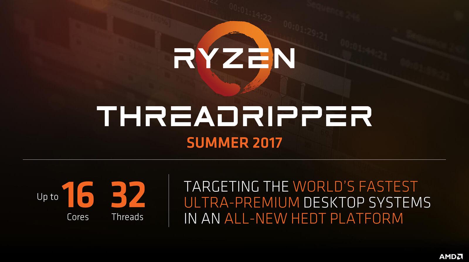 Несколько слов опроцессорах AMD Epyc иThreadripper