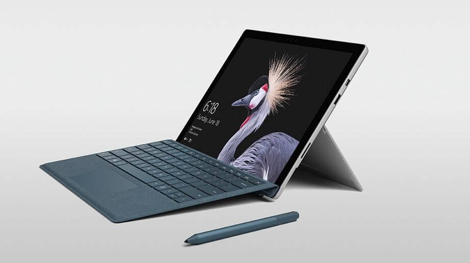 Компания Microsoft представила лэптоп The New Surface Pro