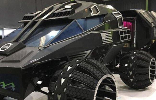 NASA представило марсоход, совмещенный с мобильной лабораторией (+видео)