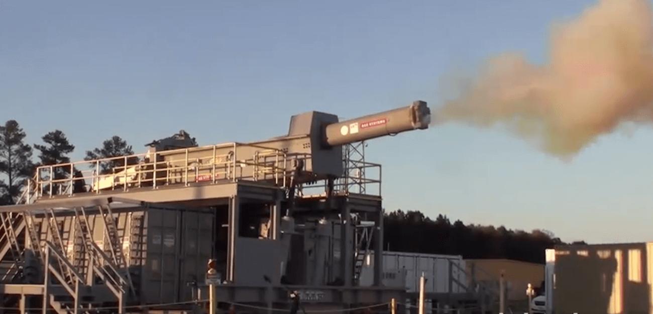 Начались испытания самого скорострельного рельсотронного оружия