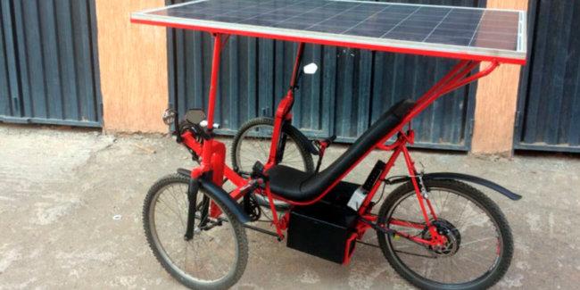 Стартап Solar E-Cycle запустил тестирование веломобилей на солнечных батареях (+видео)