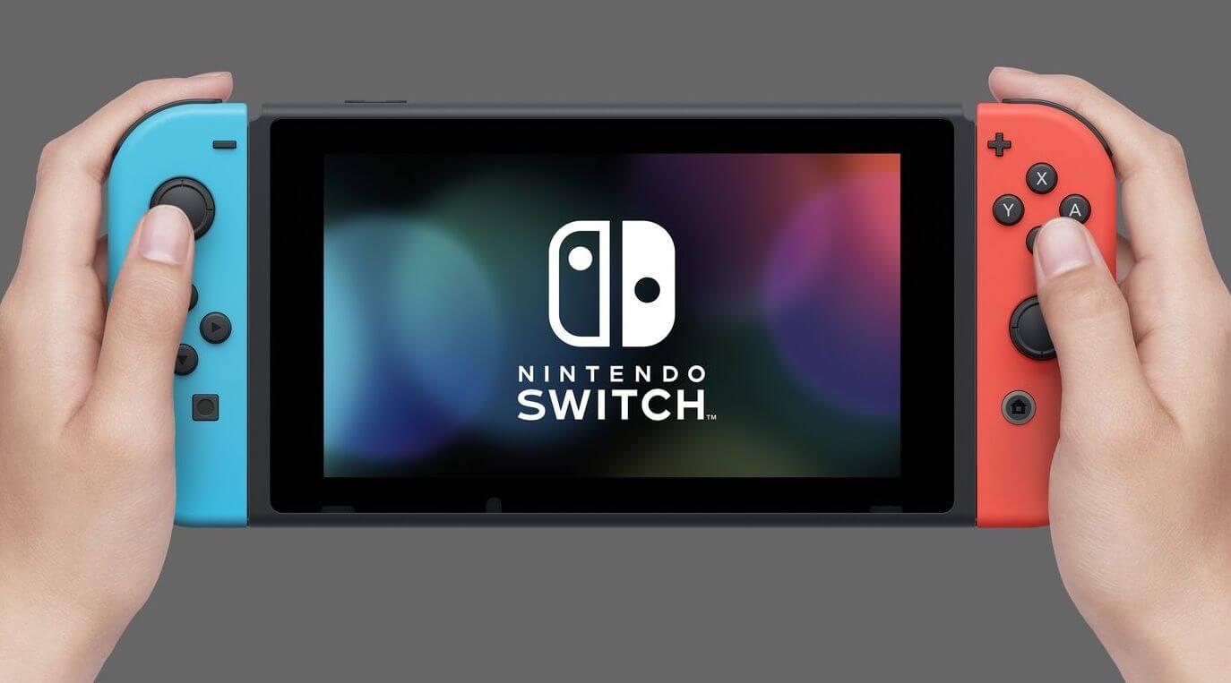 видео консоль nintendo switch пережила падение 300 метров