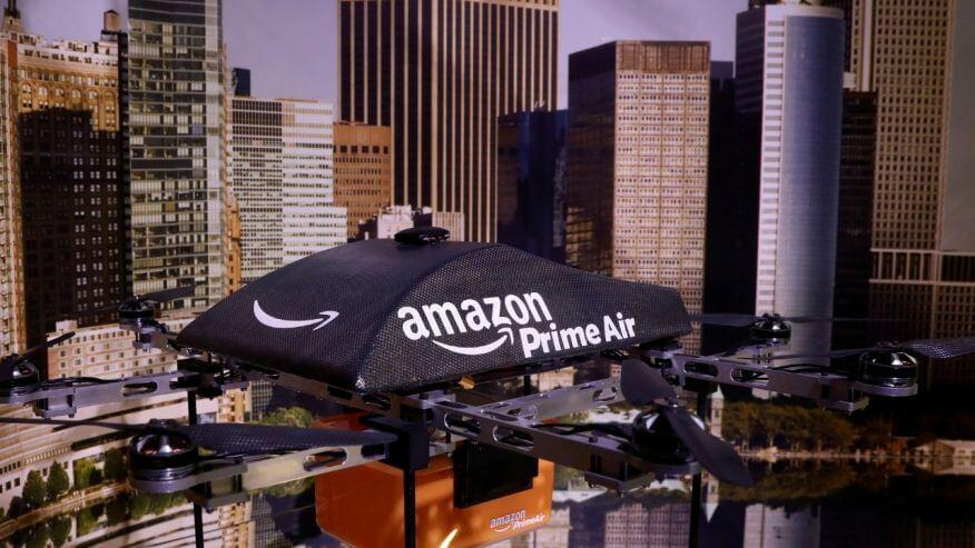 Amazon решил запатентовать вышку для доставляющих товары дронов