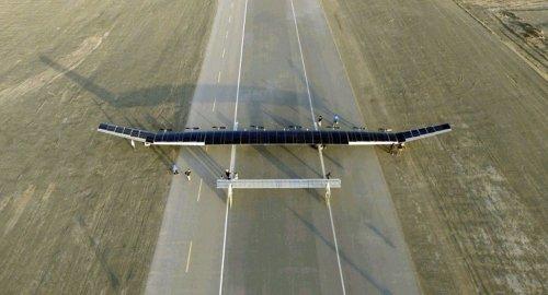 2 - Представлен беспилотник на солнечных батареях, способный летать несколько месяцев
