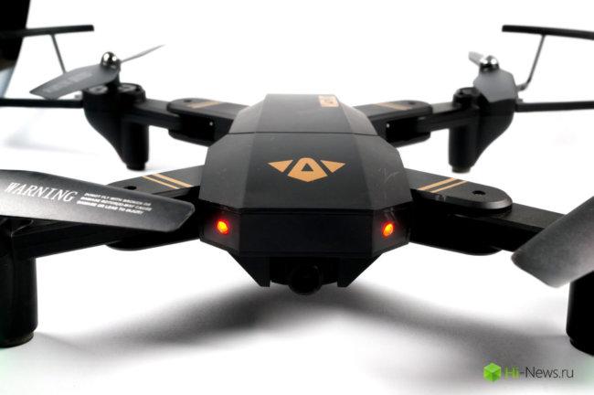 Обзор квадрокоптера VISUO XS809W — впечатления новичка