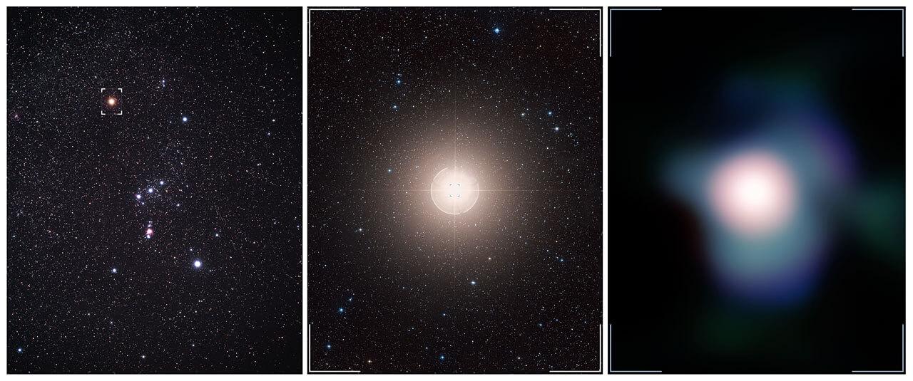 Betelgeuse3 - Астрономы получили самый детализованный снимок поверхности далекой звезды