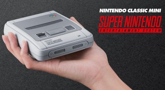 Nintendo вернёт вас в прошлое — с сентября SNES снова в магазинах