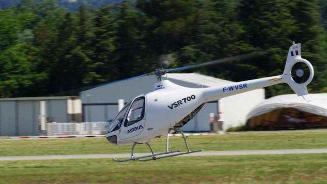 Робот-вертолёт от компании Airbus совершил первый самостоятельный полёт