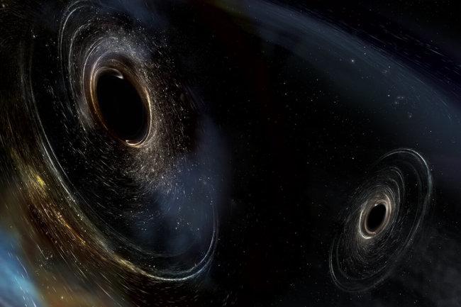 Третье обнаружение LIGO показало, как рождаются двойные черные дыры