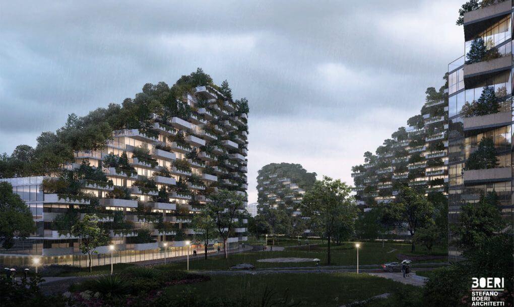 Лесной город в Китае