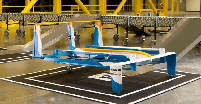 Компания Amazon запатентовала этикетки-парашюты (4 фото)