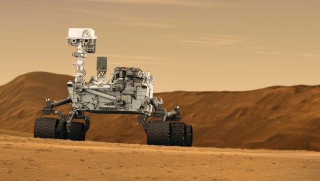 Марсоход Curiosity обрёл искусственный интеллект