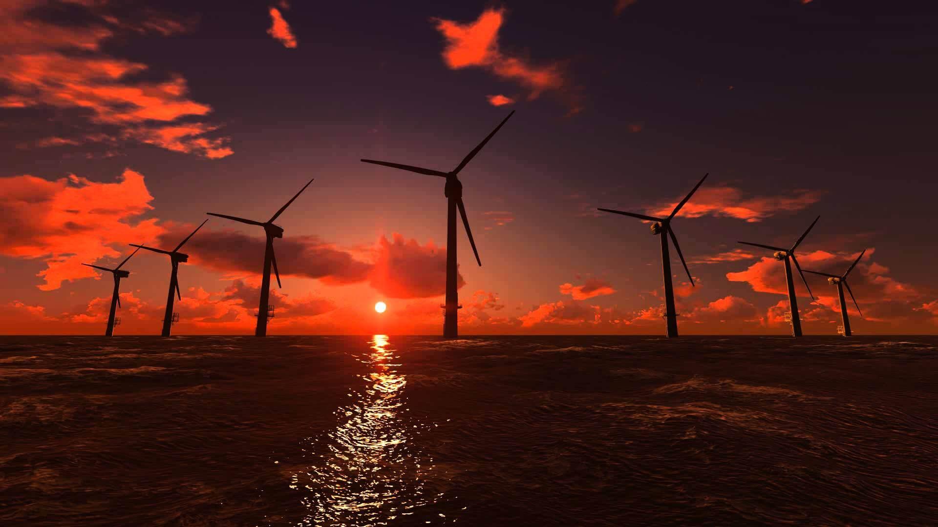 Ветряная энергия стала дешевле, чем горючие виды топлива