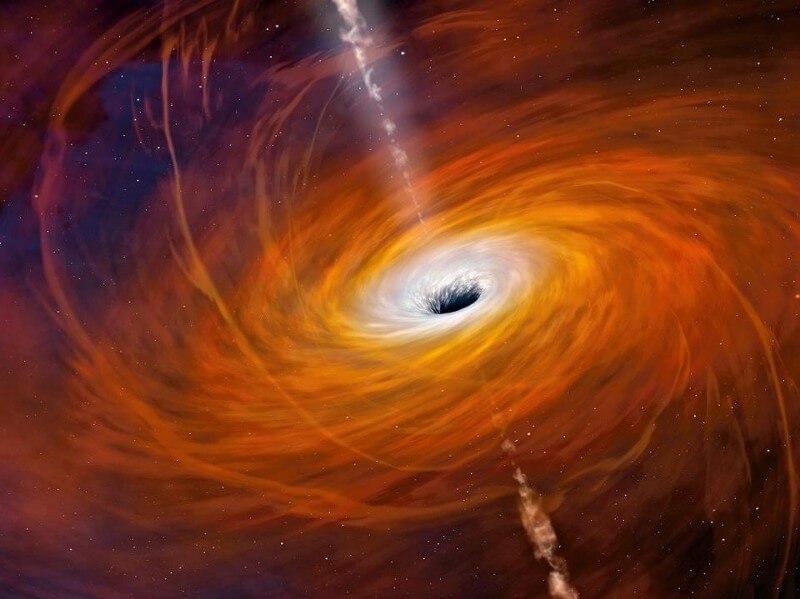 Можно ли вытащить что-то из черной дыры? (4 фото)