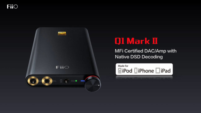 The new portable audio from Fiio — the end of the presentation at