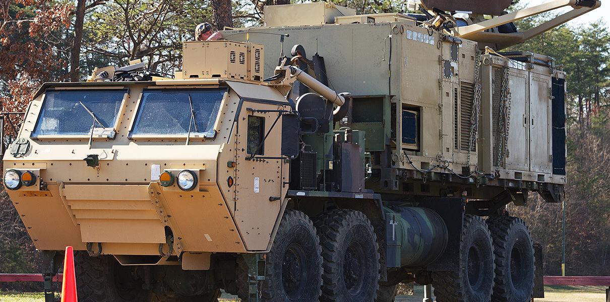Американские военные грузовики будут сами заказывать запчасти