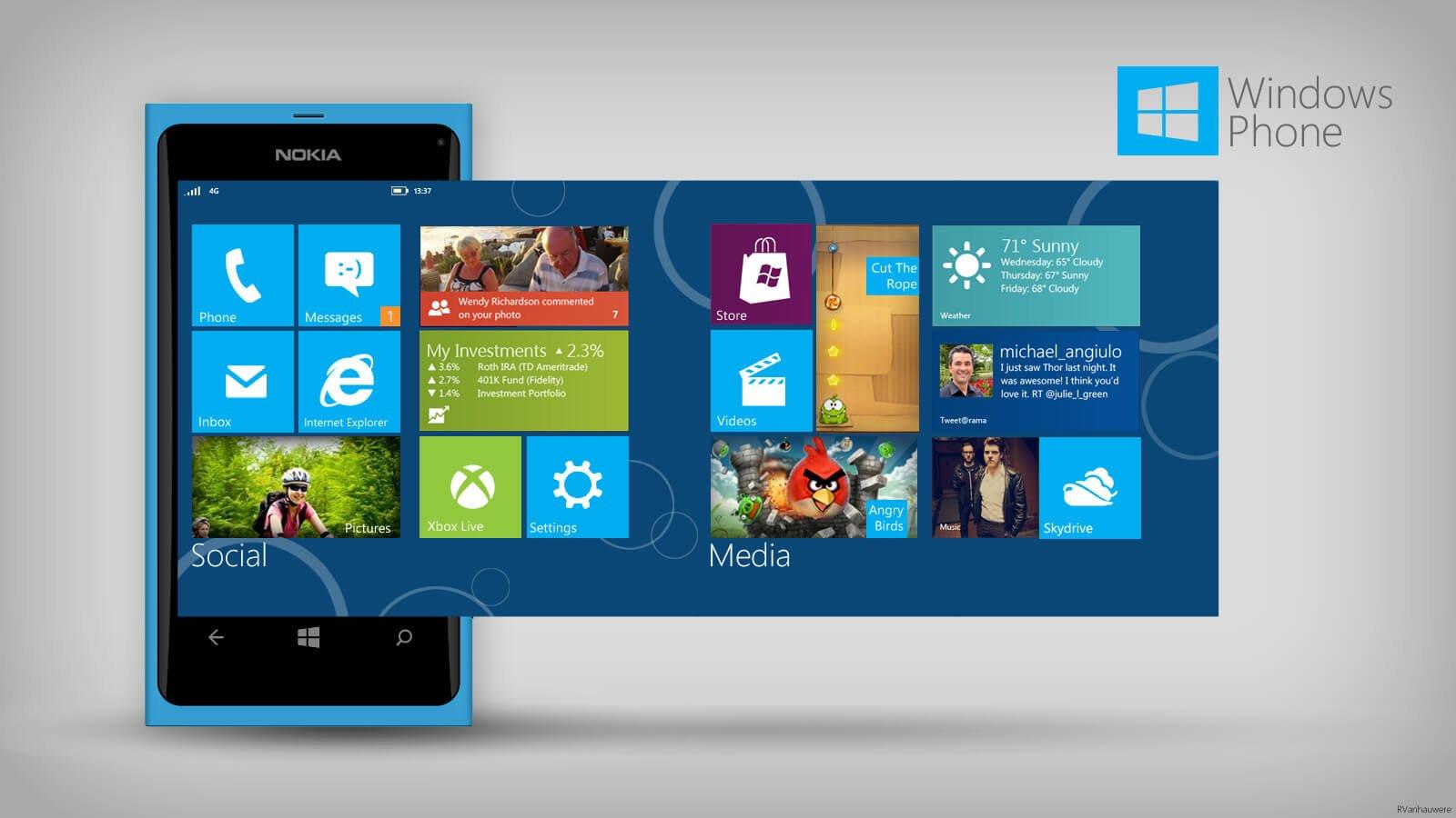 Windows Phone остался без поддержки Microsoft