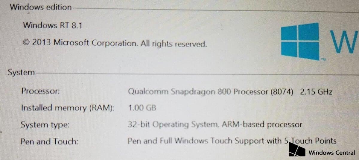 Планшет, который Microsoft так и не представила