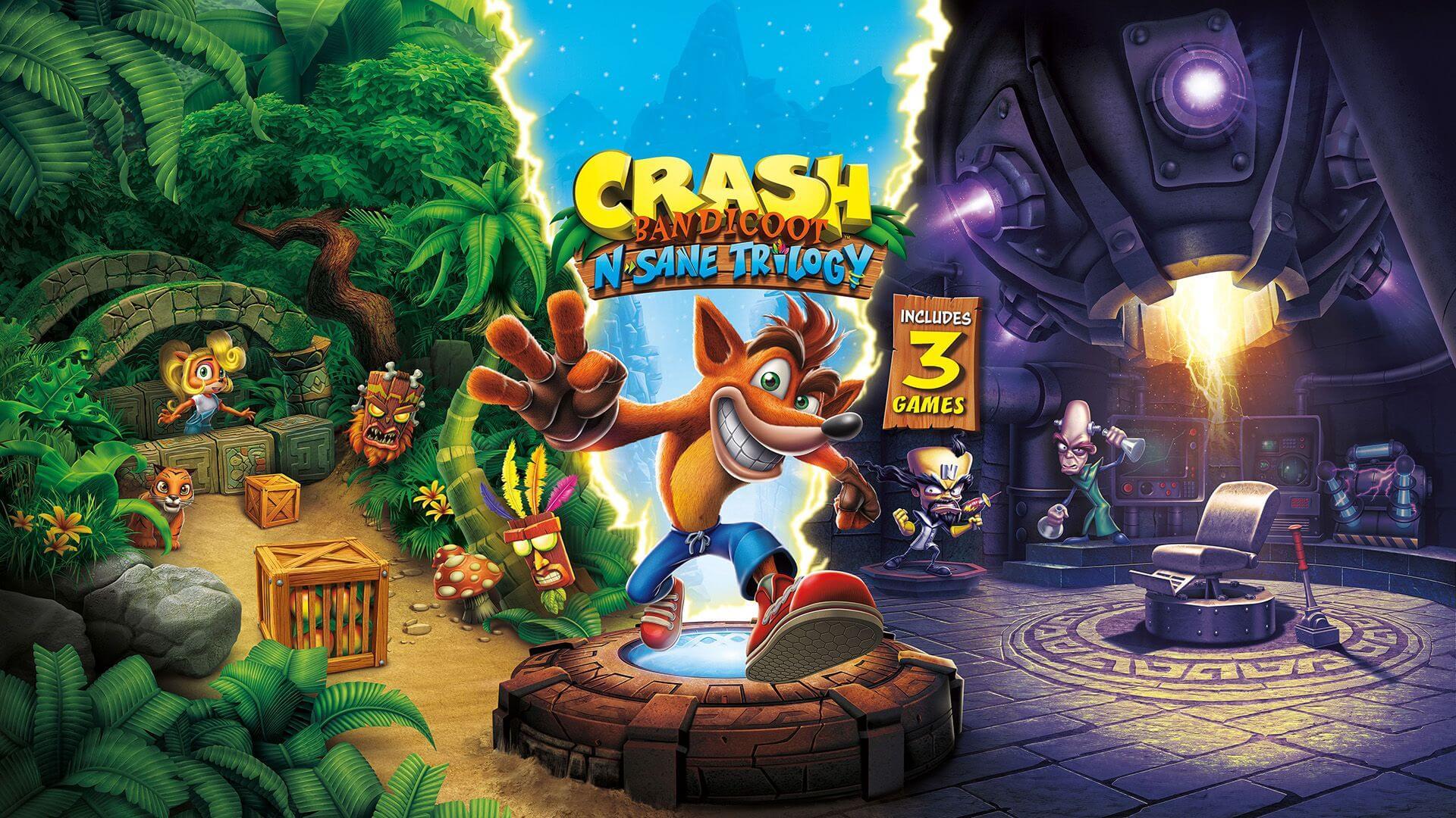 Обзор игры Crash Bandicoot N. Sane Trilogy