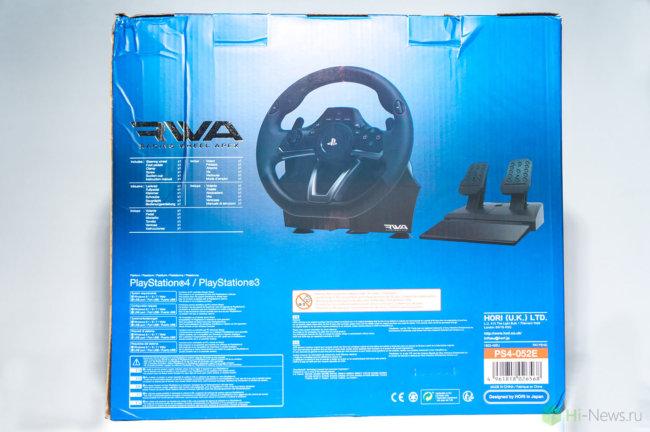 HORI Racing Wheel Apex 03 650x432 - Обзор игрового руля Hori Racing Wheel Apex