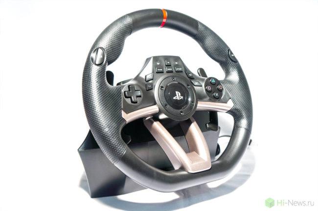 HORI Racing Wheel Apex 04 650x432 - Обзор игрового руля Hori Racing Wheel Apex