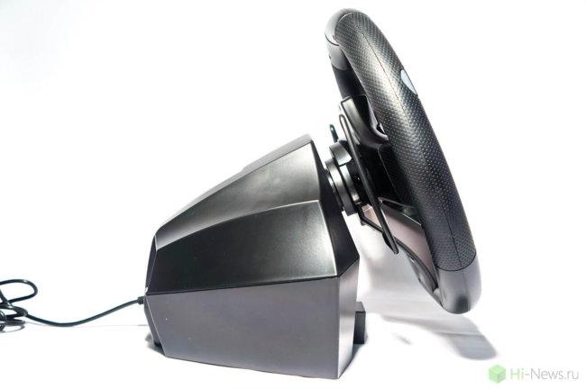 HORI Racing Wheel Apex 05 650x432 - Обзор игрового руля Hori Racing Wheel Apex