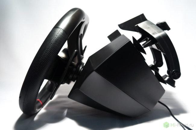 HORI Racing Wheel Apex 17 650x432 - Обзор игрового руля Hori Racing Wheel Apex