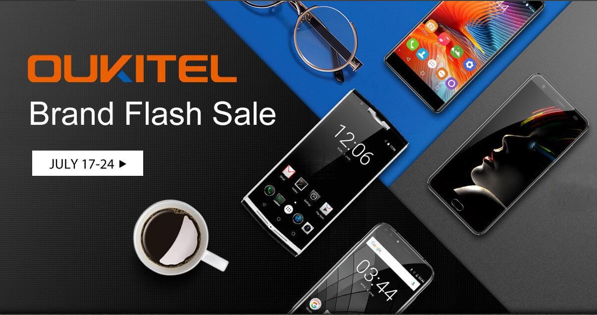 OUKITEL распродает свои смартфоны