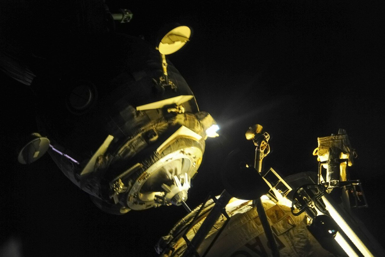 Космический корабль «Союз МС-05» доставил на МКС новый экипаж