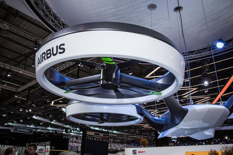 Airbus начнёт испытания пассажирских дронов
