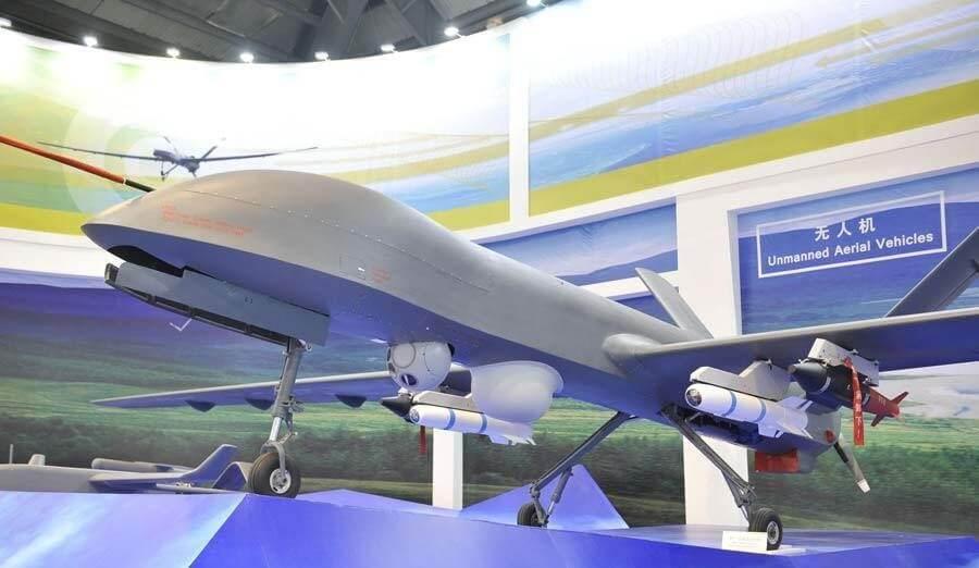 В Китае испытали первый ударный беспилотник собственного производства