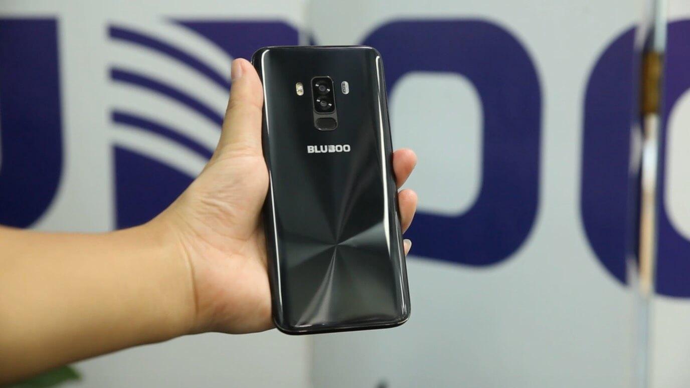 Новый смартфон BLUBOO засветился на видео