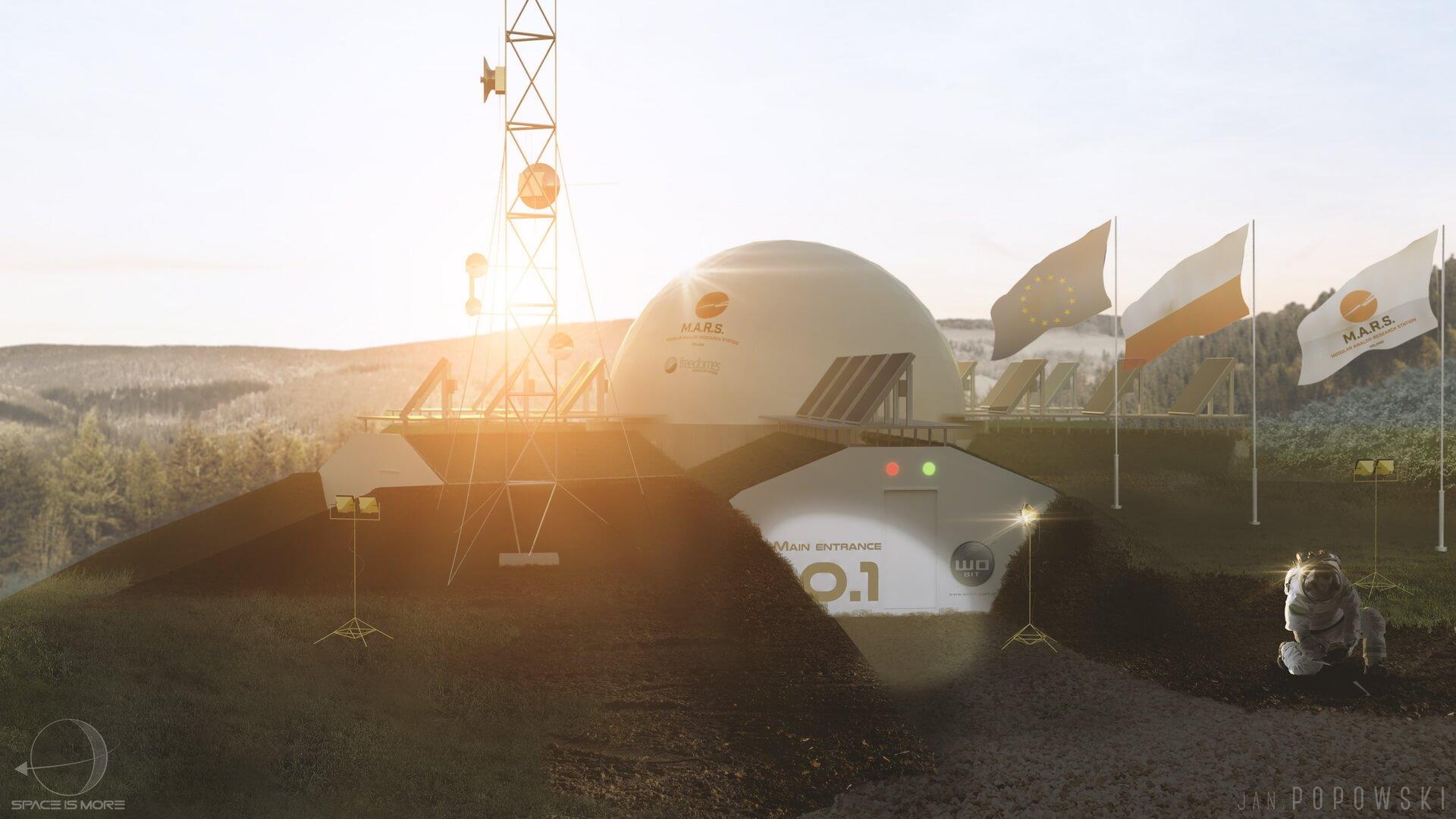 В Польше проведут эксперимент по симуляции жизни на Марсе