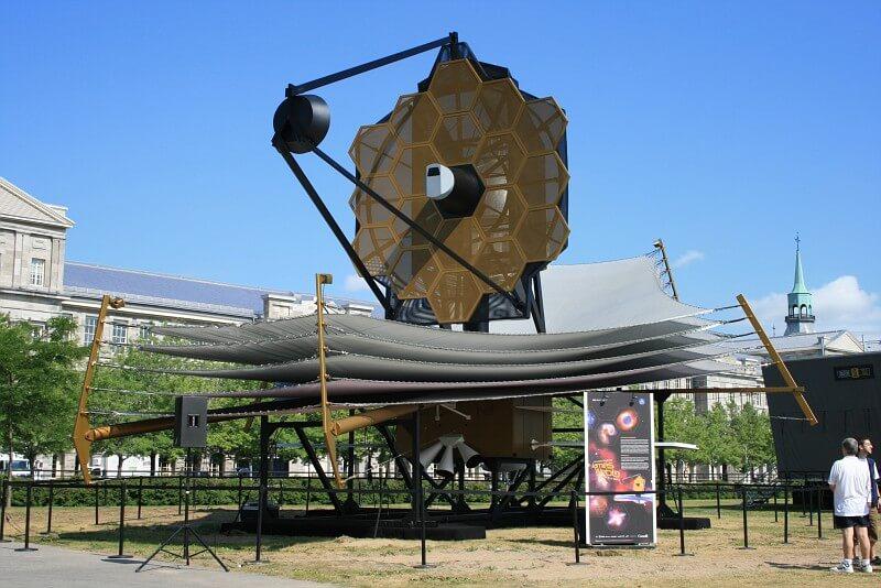 Телескоп Джеймса Уэбба сможет увидеть шмеля на Луне (+видео)