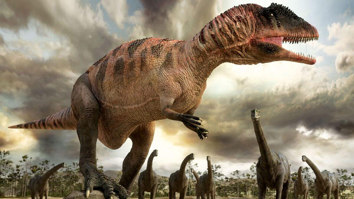 Палеонтологи впервые нашли следы динозавров в Северной Америке до вымирания (4 фото)