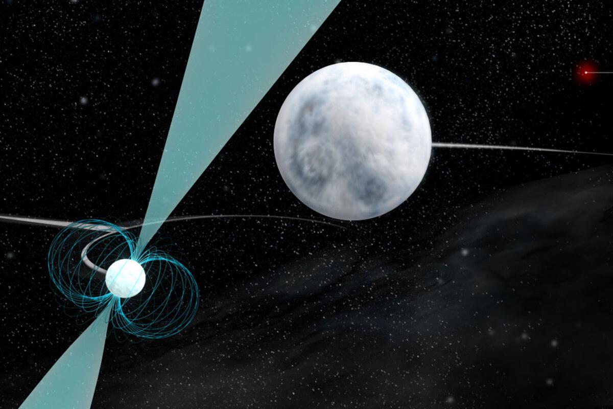 Космический танец трех мертвых звезд может нарушать относительность