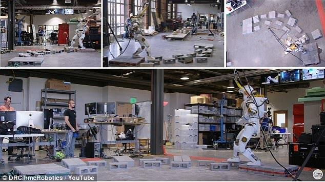 Valkyrie: прямоходящий робот для колонизации Марса (2 фото + видео)