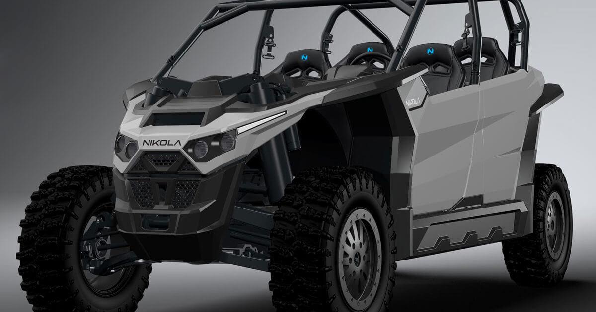 Стартап Nikola Motors раскрыл характеристики своего электрического вездехода